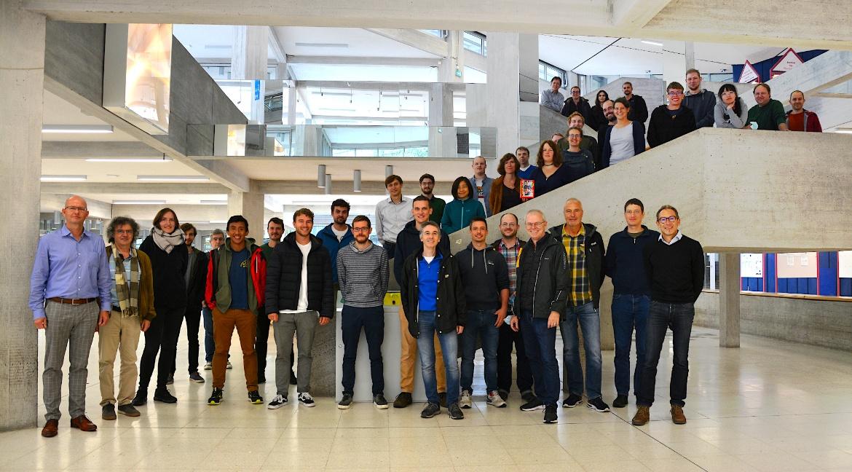 Gruppenfoto des Instituts