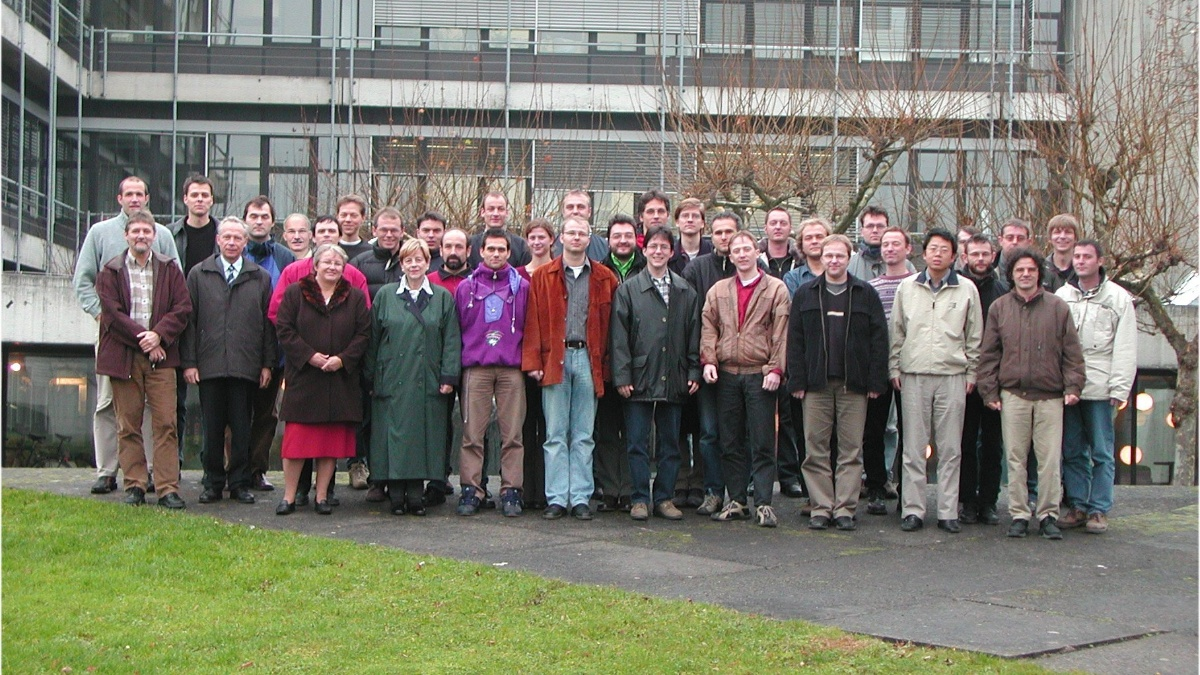 The ITO Team from 2003